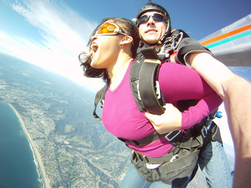 Skydiving in San Francisco
