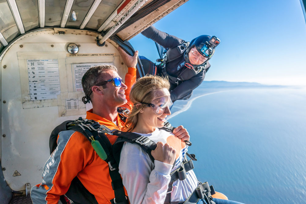 Ocean View Skydiving San Francisco,the #1 skydiving center